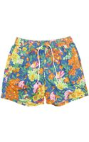 Polo Ralph Lauren Blue Floral Swimming Shorts - Lyst