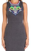 Greylin Sidra Embellished Bodycon Dress - Lyst