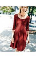 Nic+zoe Twirl Halfsleeve Knit Dress - Lyst