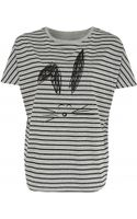 Noё Stripe Rabbit T-shirt - Lyst