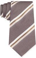 John Varvatos Silk Stripe Tie - Lyst