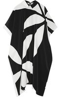 Issa May Jean Printed Silk Crepe De Chine Dress - Lyst