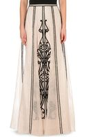 Temperley London Crivelli Silk Maxi Skirt - Lyst