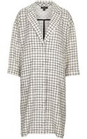 Topshop Check Print Duster Coat - Lyst