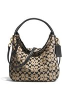 Coach Bleecker Sullivan Hobo in Printed Signature Fabric - Lyst