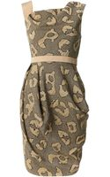 Vivienne Westwood Red Label Animal Print Dna Dress - Lyst