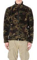 Ralph Lauren Camouflage Fleece Jacket Camo - Lyst