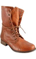 Steve Madden Troopa Laceup Boots - Lyst