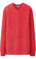 Uniqlo Women Middle Gauge Crew Neck Sweater - Lyst