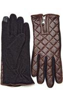 Lauren by Ralph Lauren Quilted Gloves - Lyst