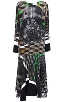 Preen By Thorton Bregazzi Vader Dress with Darth Vader - Lyst