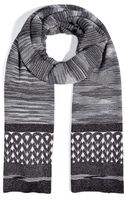 Missoni Mixed Knit Scarf - Lyst