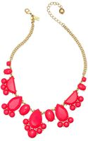 Kate Spade New York Goldtone Day Tripper Geranium Statement Necklace - Lyst