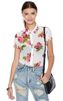 Nasty Gal Marion Blouse - Lyst