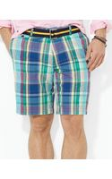 Ralph Lauren Polo Hudson Madras Short Classic Fit - Lyst