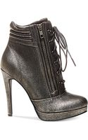 Madden Girl Hartson Lace Up Dress Booties - Lyst