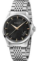 Gucci G-timeless Automatic Stainless Steel Patterned Dial Watch - Lyst