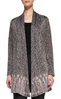 Nic+zoe Clssc Knotted Tassle Cardi - Lyst