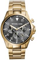 Michael Kors Gage Goldtone Stainless Steel Watch - Lyst