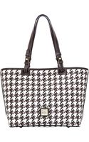 Dooney & Bourke Coated Cotton Small Leisure Shopper Tote Bag - Lyst