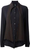 McQ by Alexander McQueen Scarf Shirt - Lyst