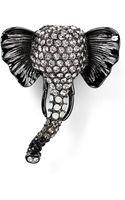 Carolee Elephant Pin - Lyst