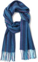 Paul Smith Wool Scarf - Lyst