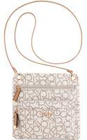 Calvin Klein Key Items Monogram Crossbody - Lyst