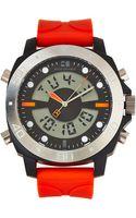 Boss Orange 1512681 Black  Orange Analog-digital Watch - Lyst
