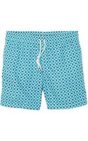 Hartford Paisley Swim Trunks - Lyst