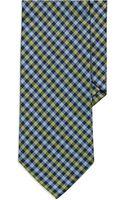 Burma Bibas Checkered Tie - Lyst