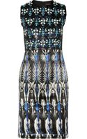 Biyan Lorelei Embellished Silkblend Dress - Lyst