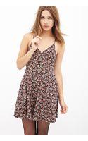 Forever 21 Garden Chic Surplice Dress - Lyst