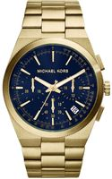 Michael Kors Channing Goldtone Stainless Steel Watch - Lyst
