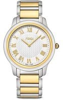 Fendi Large Two Tone Classico Watch 40mm - Lyst