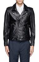 3.1 Phillip Lim Leather Biker Jacket - Lyst