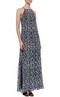 10 Crosby Derek Lam Jungle Printed Maxi Dress - Lyst