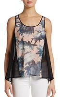 French connection Lily Collage Tank Top - Lyst