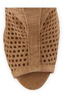 Pedro Garcia Sila Perforated Slouchy Boot - Lyst
