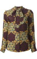 Stella Jean Print Shirt - Lyst