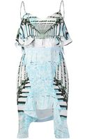 Peter Pilotto Cascade Dress - Lyst