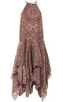 Zimmermann Writer Scarf Dress - Lyst