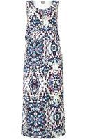Y.a.s Multi Print Maxi Dress - Lyst