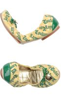 Juicy Couture Ballet Flats - Lyst