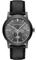 Burberry Mens Swiss The City Gray Beat Check Strap Watch 42mm - Lyst