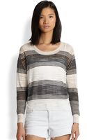 Townsen Zuma Striped Fineknit Sweater - Lyst