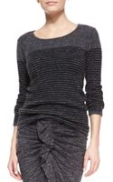 Etoile Isabel Marant Wallis Striped Pullover Sweater - Lyst