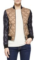 Mackage Cathy Colorblock Puffer Jacket - Lyst