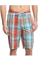 Tommy Hilfiger Multi Plaid Burke Boardshort - Lyst