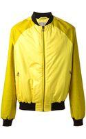 Adidas Slvr Zipped Bomber Jacket - Lyst